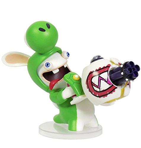 Mario + Rabbids Action Figure Rabbids Yoshi - 8 cm