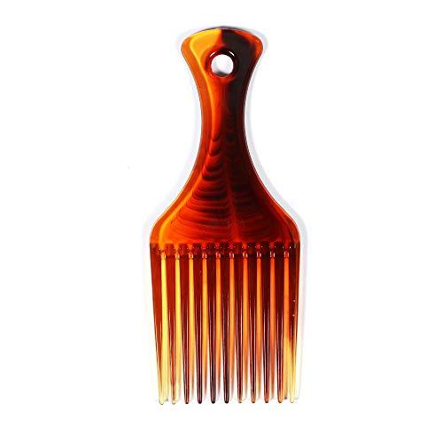 TOOGOO Peigne à Cheveux Fourche à Cheveux Peigne Insert Coiffure Frisee Outil de Coiffage Brosse à Cheveux Peigne Brosse à Cheveux Pour Hommes & Femmes