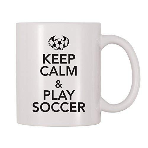 Theebeker, 4 alle keren kalm houden en voetbal mok spelen (11 oz)