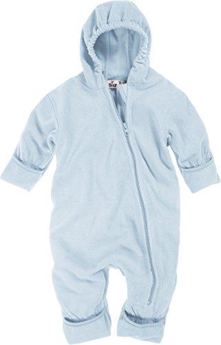 Playshoes Baby-Unisex Fleece Overall, Blau (17 bleu), 74