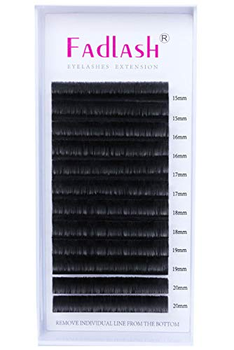 Extensiones de Pestañas 0.07 D curl Mix 15-20mm 3D 5D 10D Extensiones Pestañas Volumen Ruso Easy Fan Lash