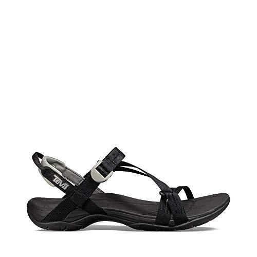 Teva Women's W Sirra Sport Sandal, Black, 8 M US