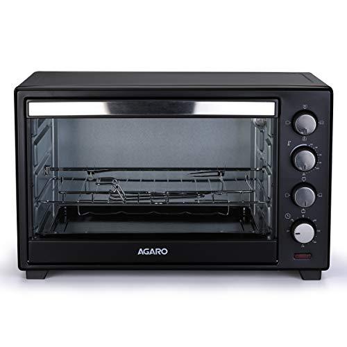 AGARO - 33310 Marvel Series 48-Litre Oven Toaster Griller with Motorized Rotisserie & 3 Heating Modes (Black)