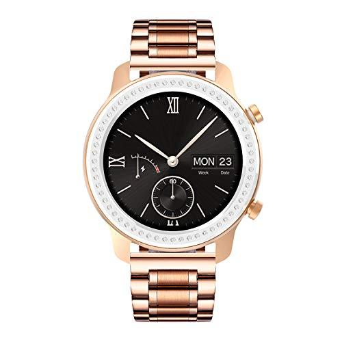 BINLUN Bandas de Reloj compatibles con Amazfit Bip/GTS/GTR 42mm 47mm, Amazfit Pace/Stratos Smartwatch Banda de Acero Inoxidable Reemplazo 20mm 22mm Correas de Reloj de Metal Pulsera de Negocios