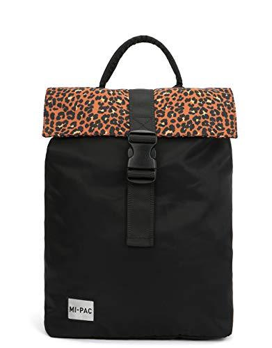Mi-Pac Mi-Pac Day Pack SP Nylon Leopard - Black Mochila Tipo Casual 39 Centimeters 20 Negro (Black)