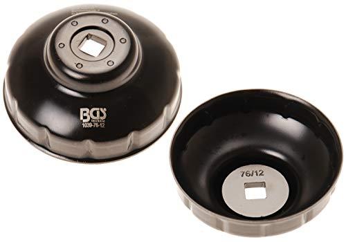 BGS 1039-76-12 | Ölfilterschlüssel | Zwölfkant | Ø 76 mm | für Fiat, Mercedes-Benz, Renault
