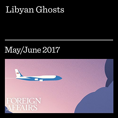 Libyan Ghosts audiobook cover art