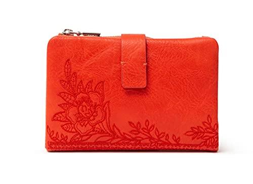 Desigual Womens SMALL Wallets Travel Accessory-Money Belt, ORANGE, U