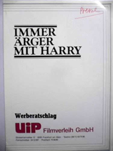 Immer Ärger mit Harry - Alfred Hitchcock - Shirley MacLaine - Werberatschlag