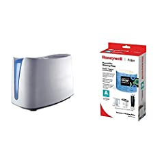 1 of Honeywell HCM350W Germ Free Cool Mist Humidifier White 1 of Honeywell Replacement Wicking Filter A, 1 pack, White