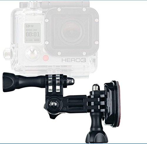 PROtastic Supporto Laterale da Casco per Action Cam (GoPro, Xiaomi, SJCAM, ecc.)