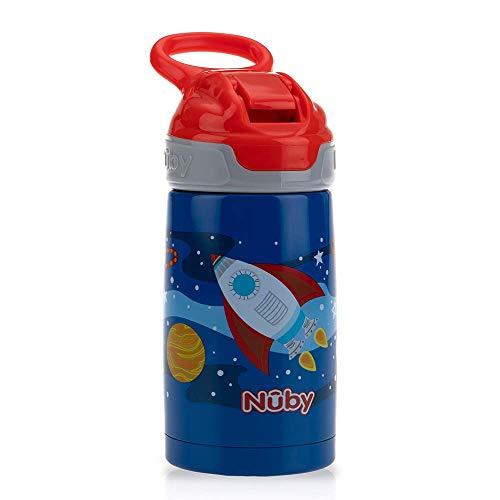 Nuby - Taza de aprendizaje Botella Rockets