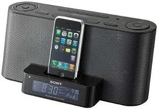 Sony Dream Machine Speaker Alarm Clock Radio Dock ICF-C1iPMK2, Black, Compatible with Apple iPhone/iPod