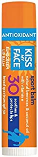 Kiss My Face Sport Lip Balm SPF 30, 0.15 Ounce (pack of 3)