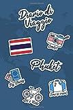 Diario di Viaggio Phuket: Diario di viaggio da compilare | 106 pagine, 15,24 cm x 22,86 cm | Per accompagnarvi durante il vostro soggiorno (Italian Edition)