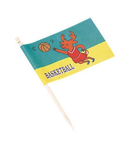 大黒工業 ランチ旗 バスケットボール200本入 QLV06