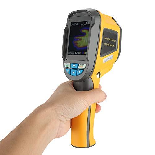 Garsent HT-02 Wärmebildkamera Infrarot Thermometer, Handheld tragbar Thermal Imaging Camera 2.4 Zoll Farbanzeige mit Schutztasche