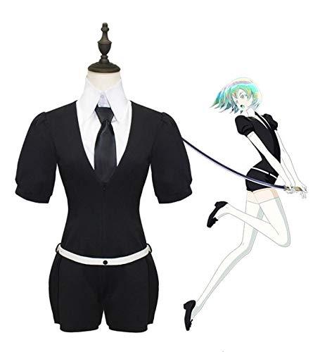 Anime houseki no kuni fosphyllite antrtica tierra brillante hombres mujeres cosplay traje mono trajes moda peluca fiesta de halloween M 3pcs set