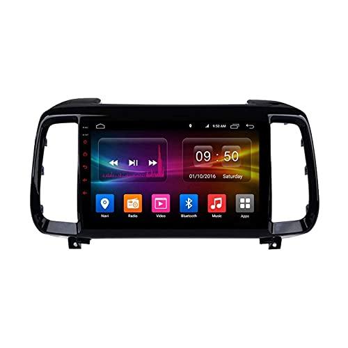 9 Pulgadas Coche Estéreo para Hyundai IX35 2018 Unidad Cabeza 1080P Pantalla Táctil Player Multimedia Player GPS Navegación Radio Soporte Bluetooth SWC WiFi 4G Espejo Enlace FM,4 Core 4g+WiFi: 2+32gb