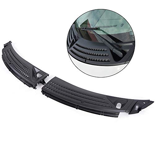 Outer Windshield window Wiper Cowl Cover Panel For Ford F150 04-08 Left & Right 2Pcs Kit