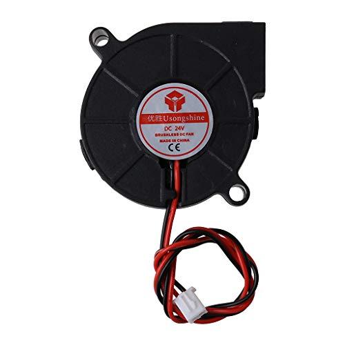 Meipai 3D Printer Cooling Fan 5015 50x50x15mm Centrifugal Blower Fan 5V 12V 24V 2-Pin Brushless Cooling Cooler Fan