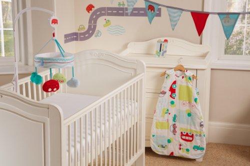 Grobag Safer Sleep Parure pour chambre d'enfant Motif All Aboard
