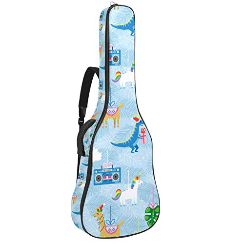 Bolsa para guitarra impermeable con cremallera suave para...