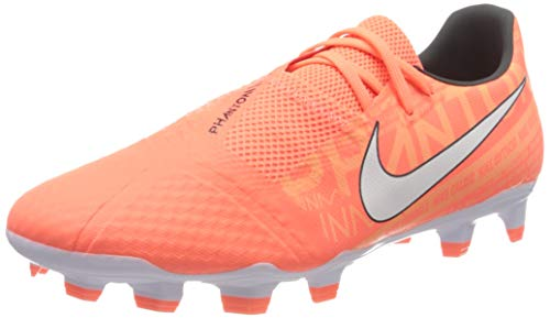 Nike Men's Phantom Venom Academy FG Soccer Cleats (Bright Mango/White) (11 Women / 9.5 Men's M US)