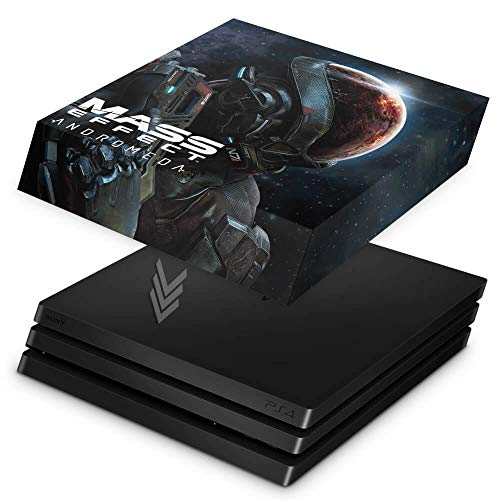 Capa Anti Poeira para PS4 Pro - Mass Effect: Andromeda