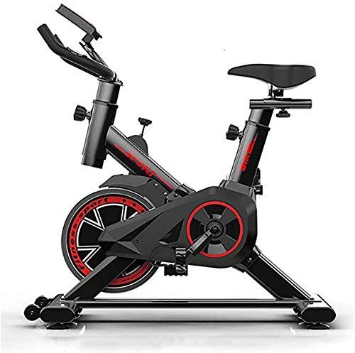 Wghz Professionelles Indoor Cycling mit Armstütze, 22 kg Schwungrad, Pulse Belt-kompatiblem Speedbike, Ergometer bis 100 kg
