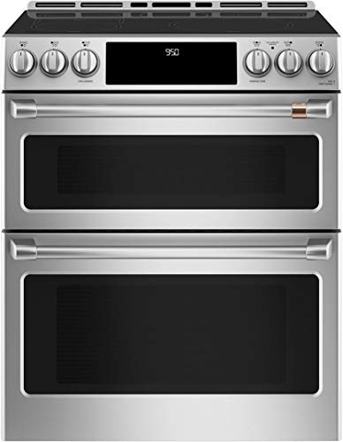 Cafe CHS950P2MS1 30 Inch Induction Slide-in Electric Range in Stainless Steel