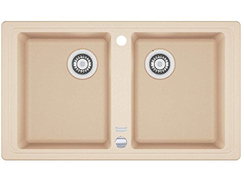 Franke Basis BFG 620beige FRAGRANITE cucina lavandino doppio bacino lavello da incasso