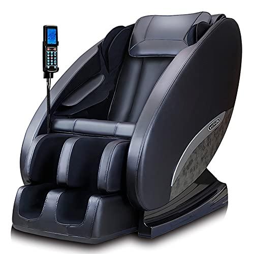 Sillón de masaje, silla de masaje eléctrica para todo el cuerpo Smart...