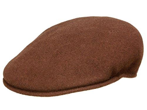 Kangol Homme Casquette plate Wool 504 marron