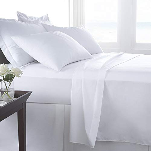 AmigoZone 400 Thread Count Egyption Cotton Fitted Bed Sheet, Single Fitted...