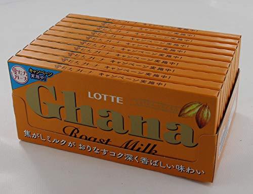 ロッテガーナローストミルク50g×10個