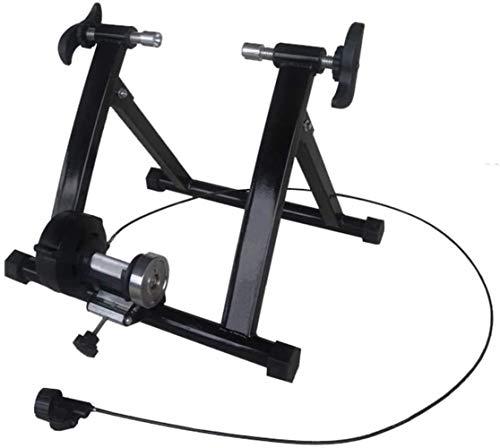 Magnetic Trainer Stand Cyclette Magnetica Allenamento stazionario Trainer Stand con riduzione del Rumore della Rotella Rapida Release- A, Colore: A (Color : A)