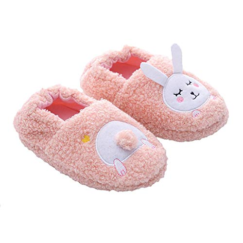 Bunny Slippers are a great Easter basket stuffer for toddlers