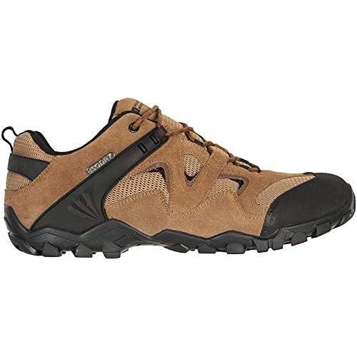 Mountain Warehouse Curlews Mens Waterproof Walking Shoes – Quick Drying Hiking Footwear, Suede...