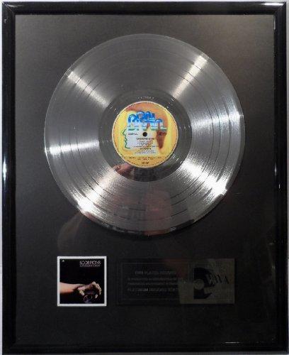 The Scorpions Lonesome Crow platin Schallplatte (goldene Schallplatte)