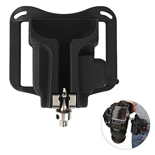 Camera Belt Clip Waist Belt Holster Holder Shoulder Strap Buckle Button,DSLR Camera Hanger Fast Loading for Sony/Canon/Nikon/Olympus/Fuji