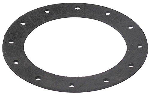 Meiko platte afdichting voor radiatoren buiten 144 mm binnen 102 mm gatafstand 33 mm gat 6 mm EPDM materiaaldikte 3 mm