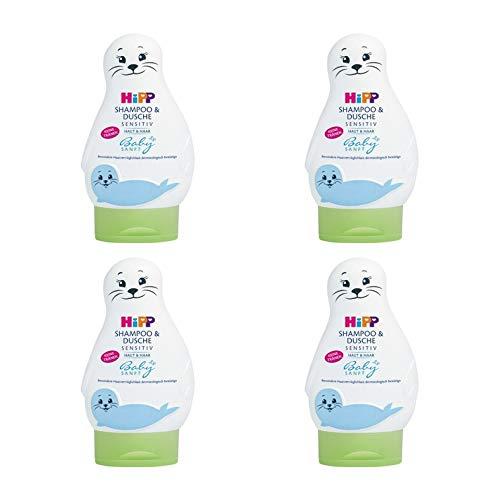 Hipp Babysanft Shampoo & Dusche, 4er Pack (4 x 200ml)
