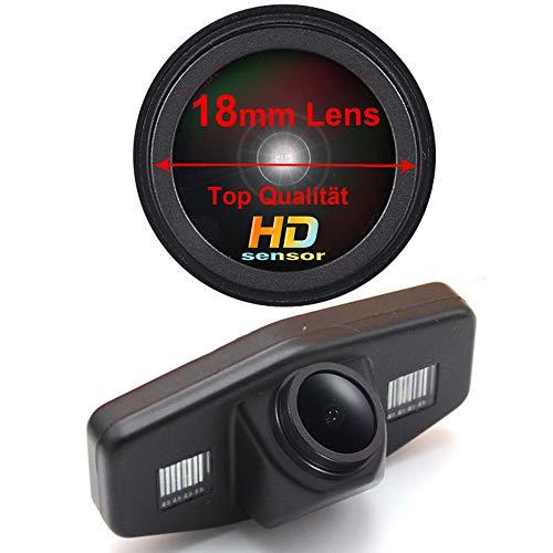 1280x720 Pixels 1000 TV Lines Rückfahrkamera wasserdicht Nachtsicht Auto Rückansicht Kamera Einparkhilfe Rückfahrsystem Kennzeichenleuchte für Honda Accord Civic EK FD Odyssey Acura TSX Pilot