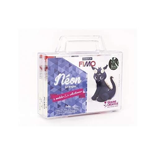 Graine Créative FIMO Spiel- und Modellier-Set für Kinder - Drachen