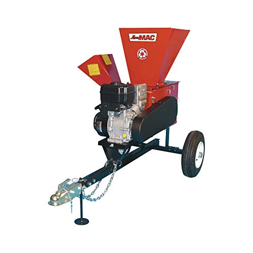 Best Review Of Merry Mac Highway-Towable Chipper/Shredder - 249cc Briggs & Stratton Intek OHV Engine...