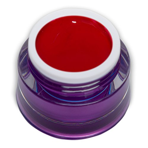 5ml Farbgel Racing Red Rot Knallrot Premium Colorgel RM Beautynails