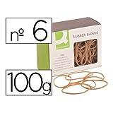 Q-Connect 54311 Bracelet Caoutchouc Plastique Assorties