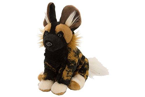Wild Republic 10830 Plüsch Afrikanischer Wildhund, Cuddlekins Kuscheltier, Plüschtier, 20 cm