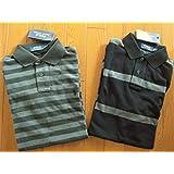 ラルフローレンのポロシャツ M(日本サイズM L) 黒・グレー
